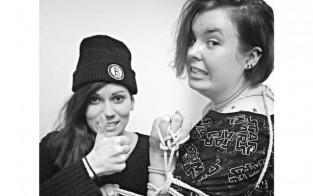 Kaupunkiradion Ellu ja Roosa kokeilivat bondagea.