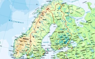 Euroopan Meret Kartta