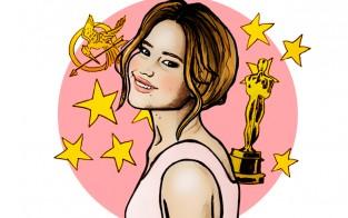 24-vuotias Jennifer Lawrence on kansainvälinen supertähti.