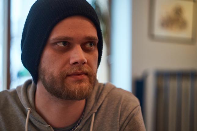 Elokuvan ohjannut Joonas Ylipiha. Kuva: Joska Saarinen